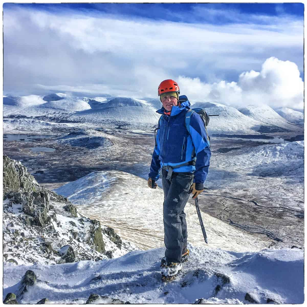 BtE Director Chris in the White Corries