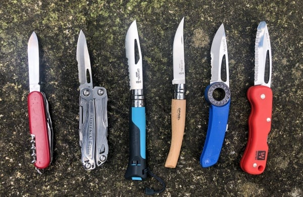 Knifes for Walking, Climbing, Mountaineering and Expeditions